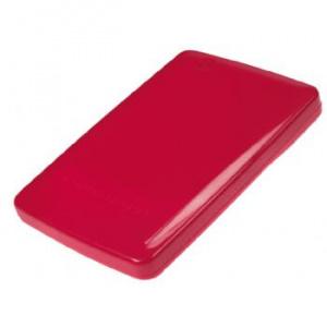 "CAJA EXTERNA HDD 2.5"" SATA-USB 2.0 CONCEPTRONIC ROJA 1"