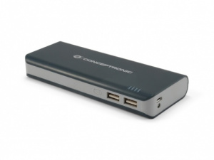 CARGADOR USB POWER BANK CONCEPTRONIC 12500 LINTERN 1