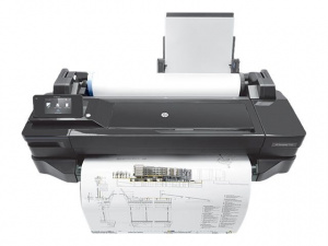 "IMPRESORA HP DESIGNJET T120 PLOTTER (24""  A1) USB 1"