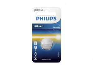 PILAS PHILIPS LITIO CR2025 3V PACK 1 1