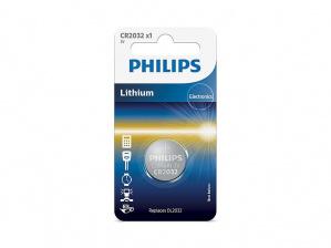PILAS PHILIPS LITIO CR2032 3V PACK 1 1