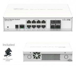 ROUTER MIKROTIK CLOUD CRS112-8G-4S-IN 1