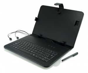"""FUNDA TABLET 3GO 9.7"""" CON TECLADO USB NEGRA 1"""