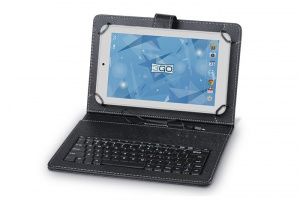 "FUNDA TABLET 3GO 10.1"" NEGRO TECLADO USB 1"