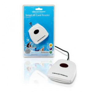 LECTOR TARJETA CHIP DNIE USB CONCEPTRONIC TR3.0 1