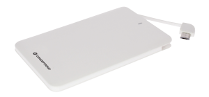 CARGADOR USB POWER BANK POWER2GO 2600 BLANCA 1