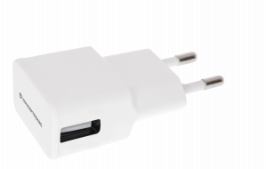 CARGADOR 5V USB POWER2GO PARED BLANCO 1