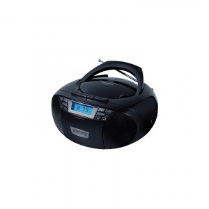 RADIO CASETTE + CD SUNSTECH NEGRA 1