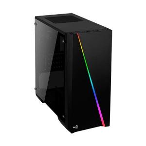 CAJA MICROATX AEROCOOL CYLON NEGRA RGB USB3.0 1
