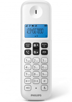 TELEFONO PHILIPS D1611 BLANCO 1