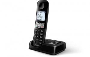 TELEFONO PHILIPS D2551 NEGRO CONTESTADOR 1