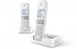 TELEFONO PHILIPS DUO D2552 DUO BLANCO CONTESTADOR 1