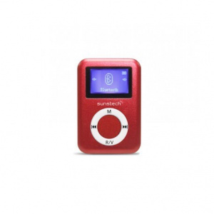 MP3 SUNSTECH DEDALO 2  4GB BLUETOOTH ROJO 1