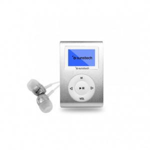 MP3 SUNSTECH DEDALOIII  8GB PLATA 1