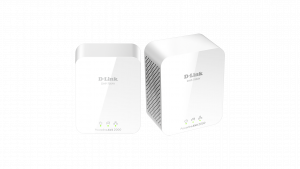 ADAPTADOR RED D-LINK  KIT 2X PLC AV2 2000 GIGABIT 1