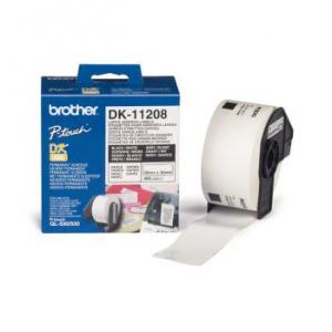 ETIQUETAS BROTHER DK11208 38/X90MM 400 ETIQUETAS 1