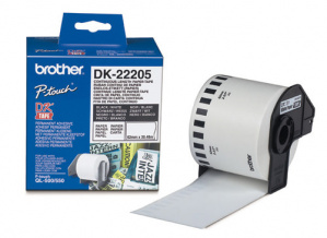 ETIQUETAS BROTHER DK22205 C.PAPEL CONTI.BLANCA62MM 1