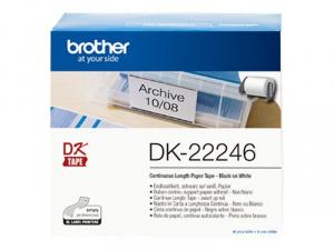 ETIQUETA BROTHER DK22246 10,3 * 30,48 1 BOBINA 1