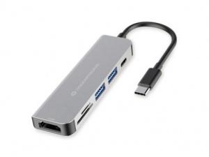 ADAPTADOR CONCEPTRONIC USB-C 6 EN 1 1