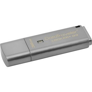 PEN DRIVE 32GB KINGSTON DT LOCKER+G3 USB3.0 [25] 1