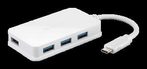 HUB USB D-LINK USB C DUB-H410 4 PUERTOS 1
