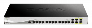 SWITCH D-LINK 12 PUERTOS 10GBASE-T + 2SFP 10GB 1