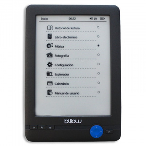 "E-BOOK BILLOW E-INK 6"" TOUCH 4GB GRIS 1"