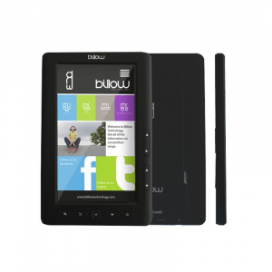 "E-BOOK BILLOW COLOR BOOK 7"" 4GB TFT BLACK 1"