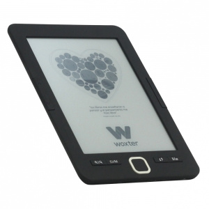 "E-BOOK WOXTER SCRIBA 195 6"" 4GB E-INK NEGRO 1"