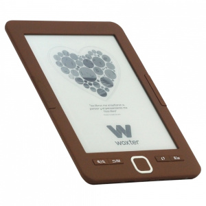 "E-BOOK WOXTER SCRIBA 195 6"" 4GB E-INK CHOCOLATE 1"