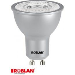 LED DICROICA ROBLAN SMD/7W/GU10/570LM/6500K/FR/100 1
