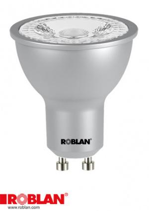 LED DICROICA ROBLAN SMD/7W/GU10/580LM/3000K/CA/60 1