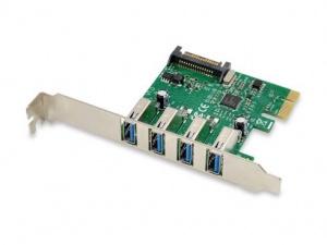 TARJETA PCIEXPRESS CONCEPTRONIC 4 PUERTOS USB 3.0 1
