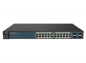 SWITCH ENGENIUS WIRELESS MANAGEMENT 24 POE + 4SFP 1