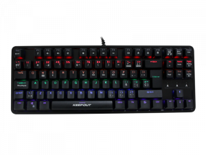 TECLADO KEEP-OUT F105 NEGRO MECANICO MINI 1