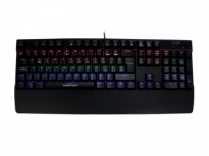 TECLADO KEEP-OUT F115 NEGRO MECANICO 1