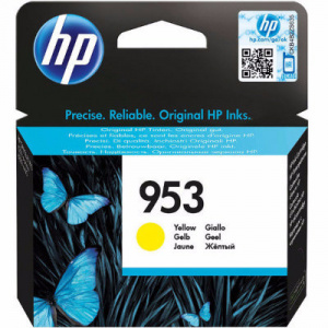 CARTUCHO HP 953  AMARILLO 10 ML PARA OFFICEJET PRO 1