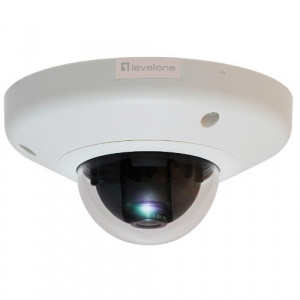 CAMARA IP LEVEL ONE DOMO NO WIFI 3 MEGAPIXEL POE 1