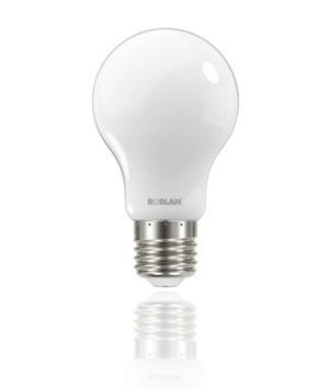 LED BOMBILLA ROBLAN FROST 6.2W/E27/730LM/4000K/FRI 1