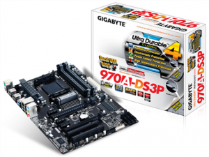 PLACA BASE AM3+ GIGABYTE 970A-DS3P ATX/4DDR3/USB 3.0 1