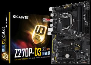 PLACA BASE 1151 GIGABYTE Z270P-D3 ATX/HDMI/USB 3.1 BULK 1