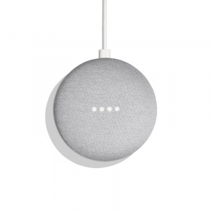 GOOGLE HOME MINI TIZA ESPAÑOL 1