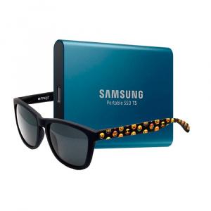 BUNDLE SSD EXT. SAMSUNG T5 250GB+GAFAS EMOJI 1