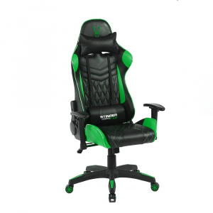 SILLA GAMER WOXTER STINGER STATION PRO GREEN 1