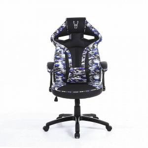 SILLA GAMER WOXTER STINGER ARMY AZUL 1