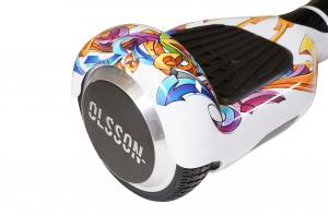 HOVERBOARD  OLSSON UPWAY 6.5 RACING GRAFF BLANCO 1