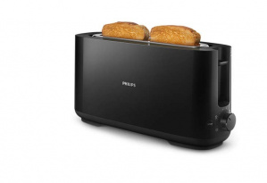 TOSTADORA PHILIPS DAILY 1 SLOT HD2590 1030W NEGRO 1