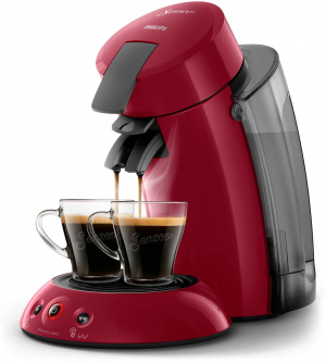 CAFETERA PHILIPS HD6555 SENSEO ROJO XL 1