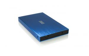 """CAJA EXTERNA HDD 2.5"""" SATA-USB 3GO AZUL 1"""