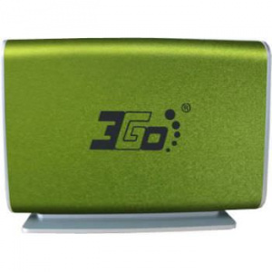 "CAJA EXTERNA HDD 3.5"" SATA-USB 3GO VERDE LIMA [5] 1"